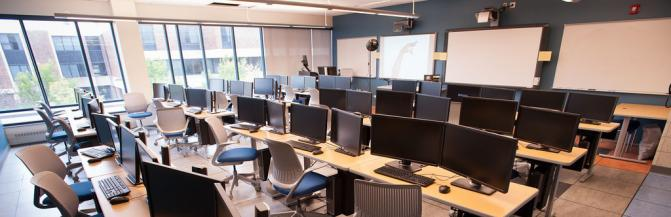 Computer Lab in the Technology Building
