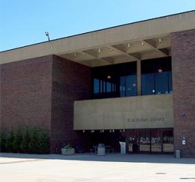 main entrance of Butler Library