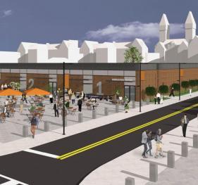 McGuire Center rendering for Dart St.
