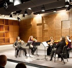 performance in recital hall